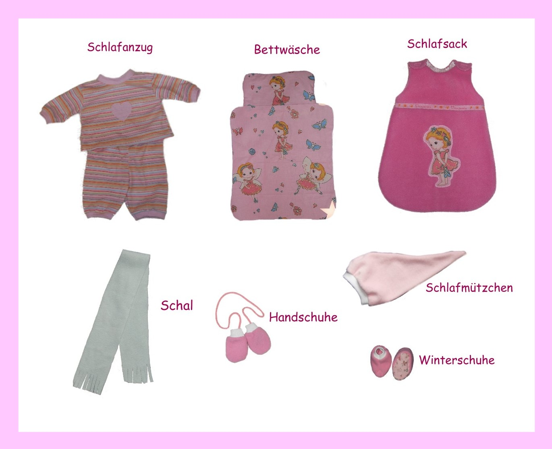 Schnittmuster für 38 Puppenmodelle / Gr. 32 cm, Puppenkleidung