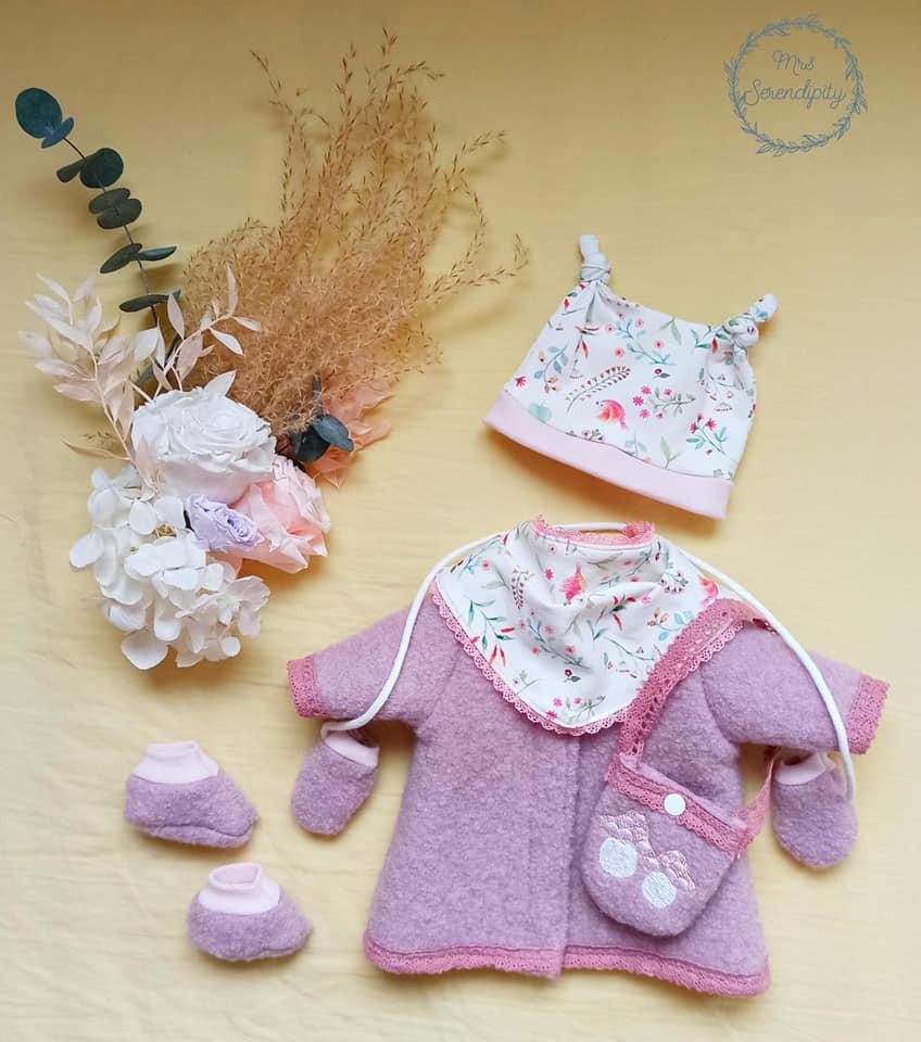 Schnittmuster Nähanleitung Puppenmodelle Puppenkleidung Gr. 32 cm