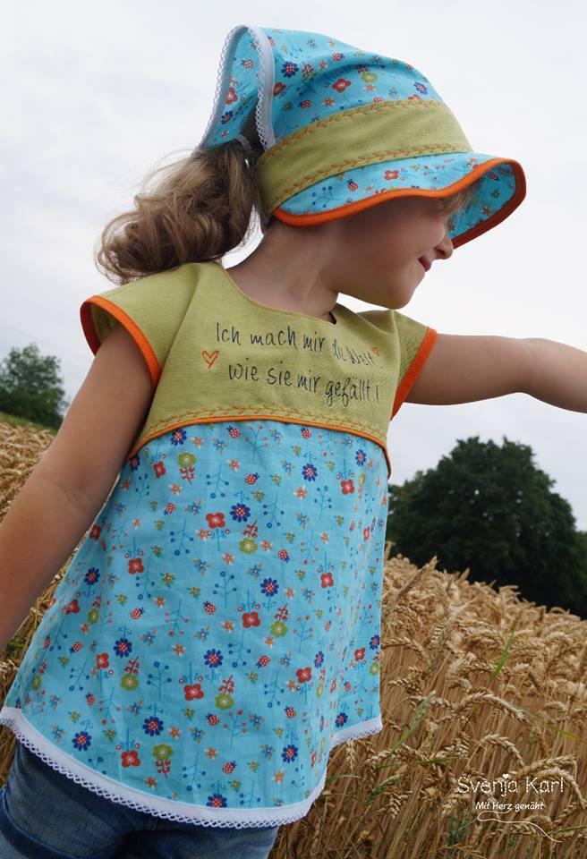 Schnittmuster Und Nahanleitung Kinderkleid Selber Nahen