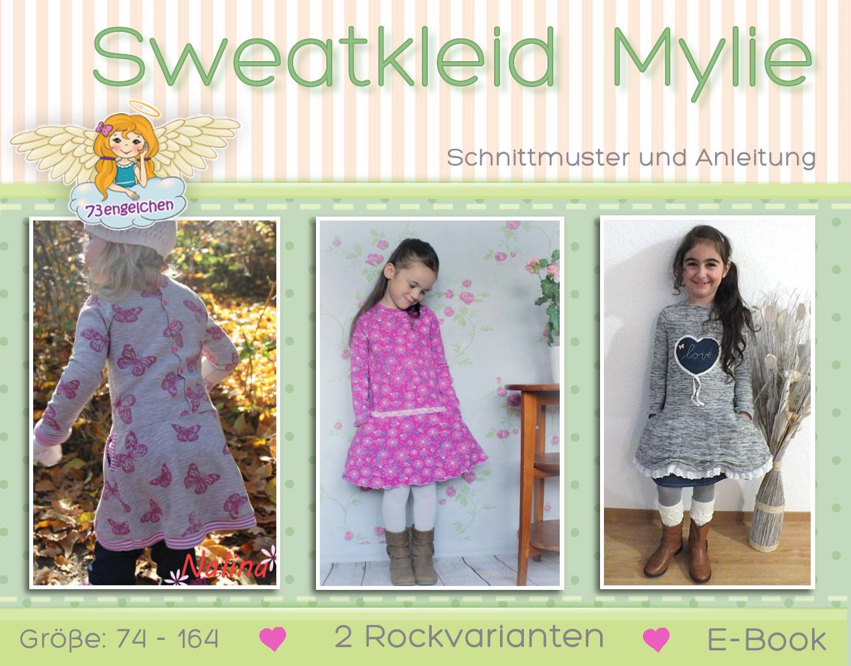 Schnittmuster und Nähanleitung Kinderkleid Mylie