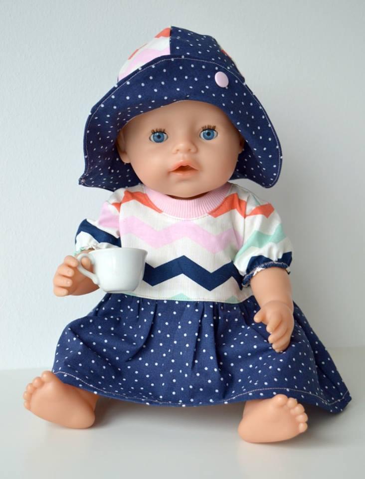 Schnittmuster Puppenkleidung und Puppenkleider selber nähen